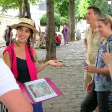 become a city guide paris